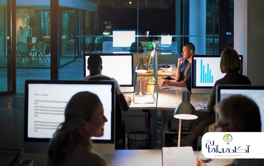بازار کار یادگیری ماشین