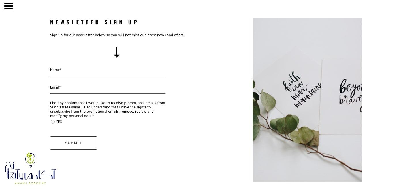 عناصر تصویری در طراحی سایت