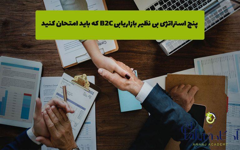 استراتژیهای بازاریابیB2C