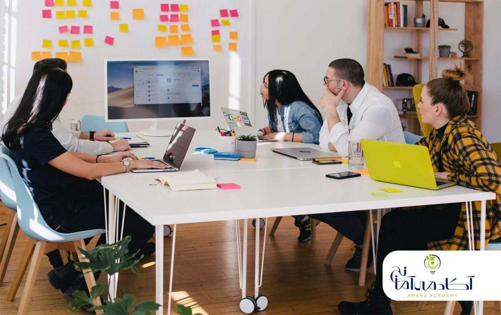 همکاری در طراحی ux