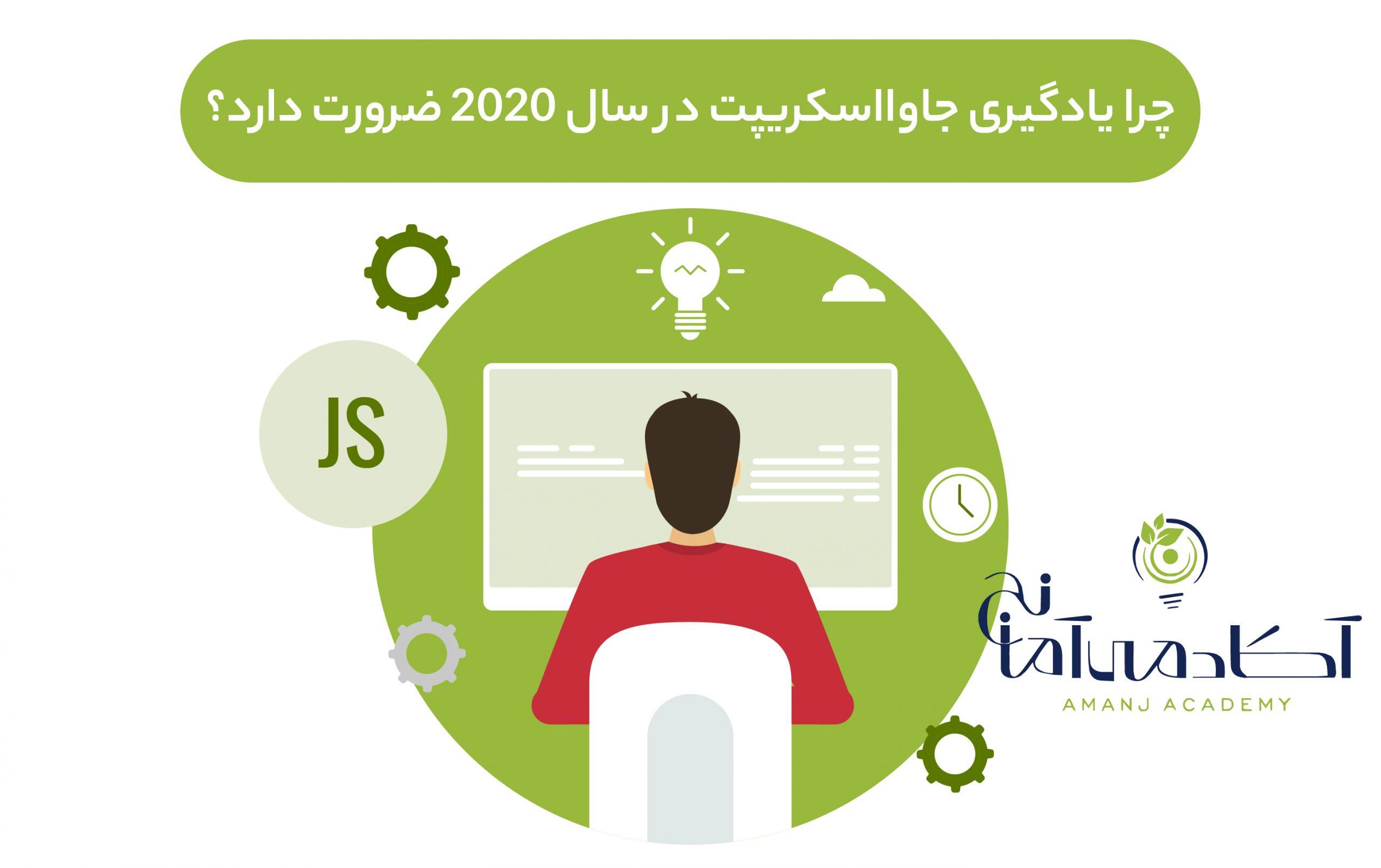 یادگیری زبان برنامه نویسی جاوااسکریپت