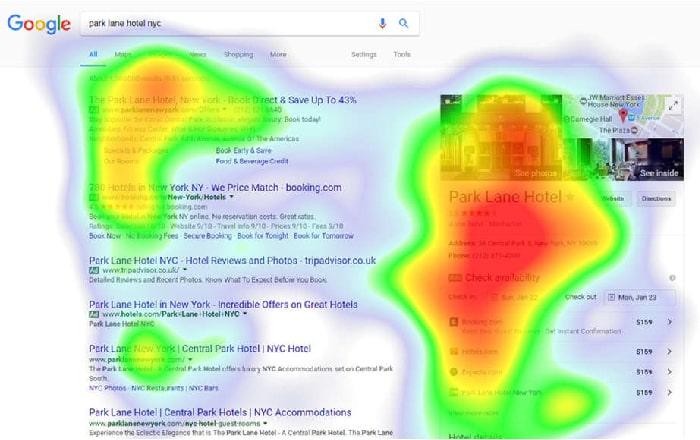 نقشه حرارتی یا heatmap