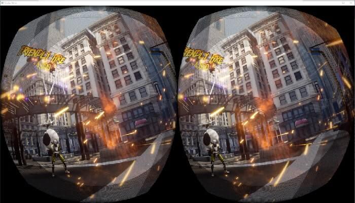 rendering in virtual reality